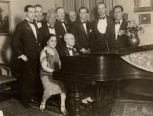 Marguerite Long al piano con Maurice Ravel