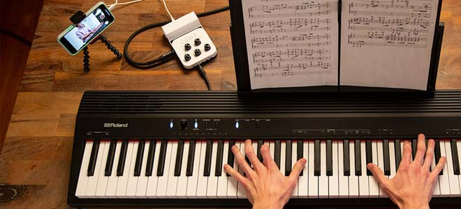 Roland Piano Go88 con bluetooth