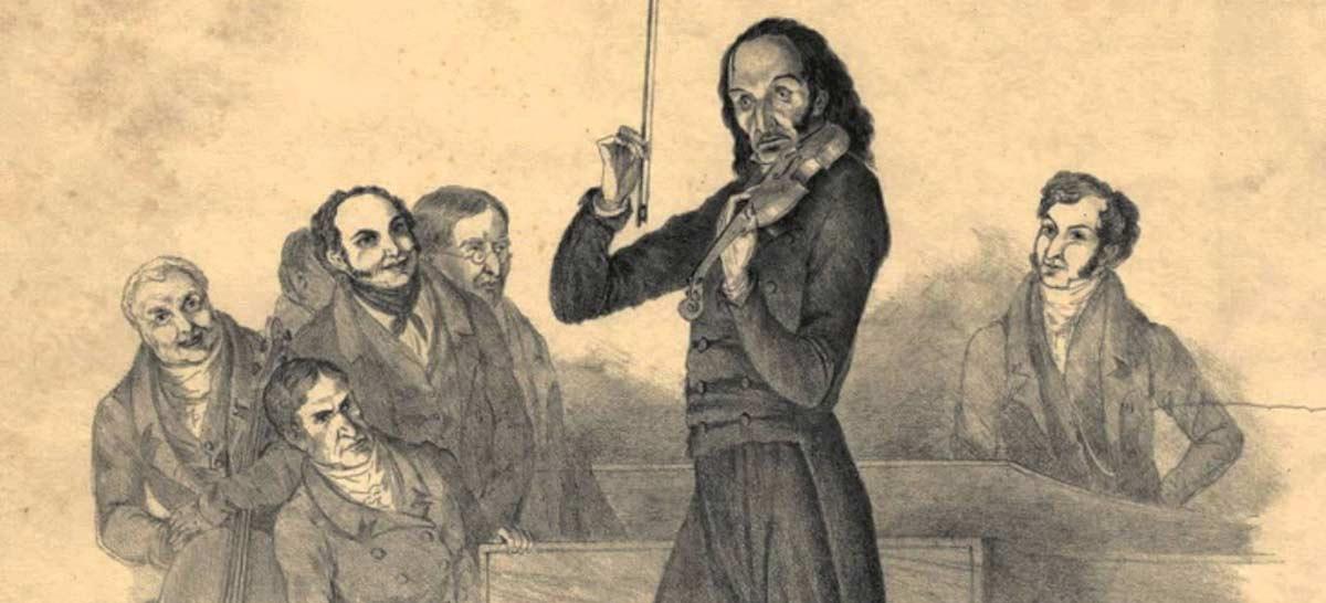 estudios de Paganini para piano