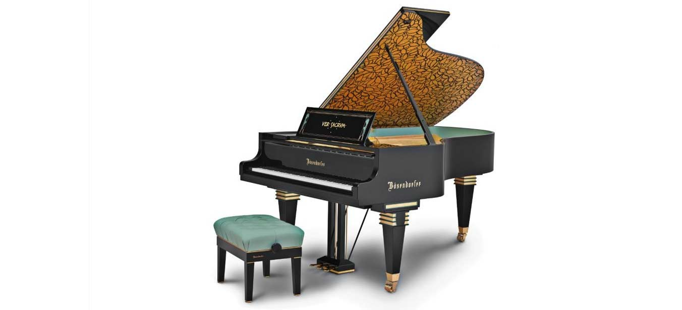 Bösendorfer Secession Concert Grand Piano